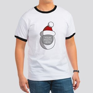Personalized Santa Christmas Ringer T