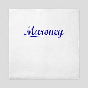Maroney, Blue, Aged Queen Duvet