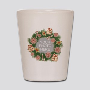 Personalized Christmas Shot Glass