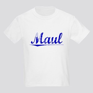 Maul, Blue, Aged Kids Light T-Shirt