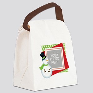 Personalized Christmas Canvas Lunch Bag