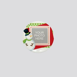 Personalized Christmas Mini Button