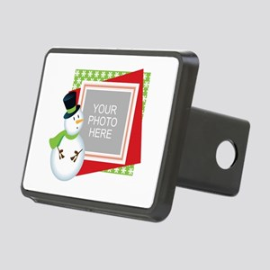 Personalized Christmas Rectangular Hitch Cover