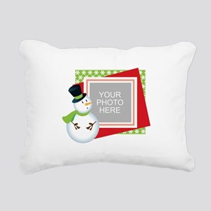 Personalized Christmas Rectangular Canvas Pillow