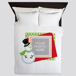 Personalized Christmas Queen Duvet
