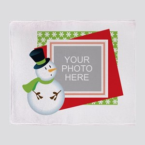 Personalized Christmas Throw Blanket