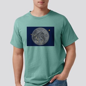 Alaska Quarter 2008 Mens Comfort Colors Shirt