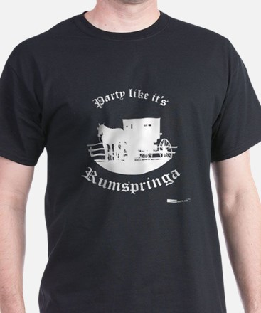Party Like It's Rumspringa Black T-Shirt