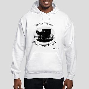 Party Like It's Rumspringa Hooded Sweatshirt