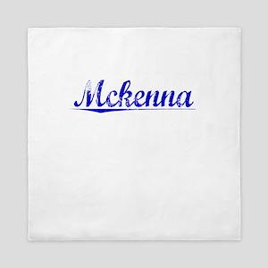 Mckenna, Blue, Aged Queen Duvet