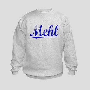 Mehl, Blue, Aged Kids Sweatshirt