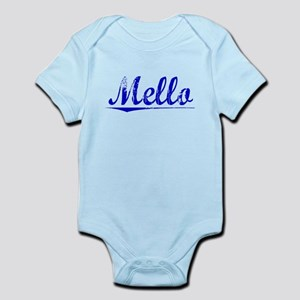 Mello, Blue, Aged Infant Bodysuit