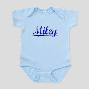 Miley, Blue, Aged Infant Bodysuit