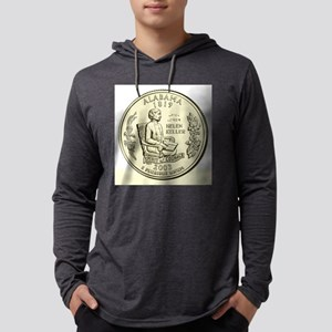 Alabama Quarter 2003 Basic Mens Hooded Shirt