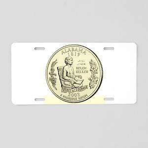 Alabama Quarter 2003 Basic Aluminum License Plate