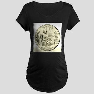 Alabama Quarter 2003 Basic Maternity Dark T-Shirt