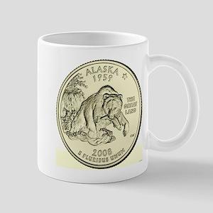 Alaska Quarter 2008 Basic 11 oz Ceramic Mug
