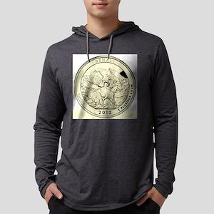 Alaska Quarter 2012 Basic Mens Hooded Shirt