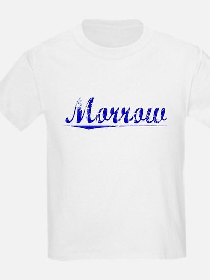 Morrow, Blue, Aged T-Shirt