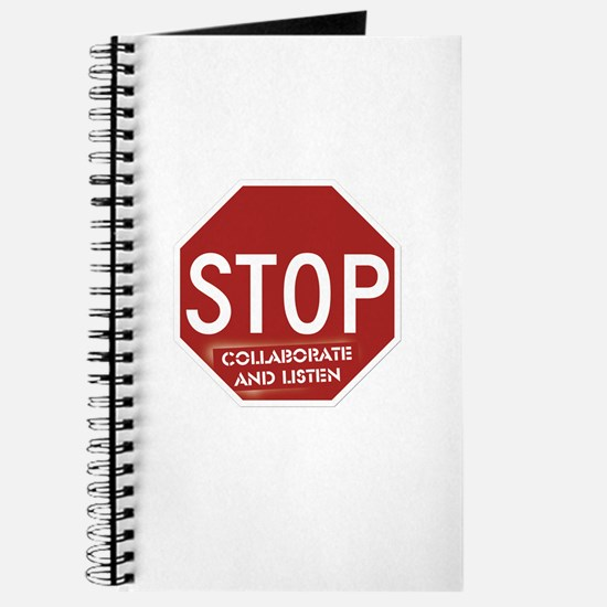 Stop Collaborate and Listen Journal