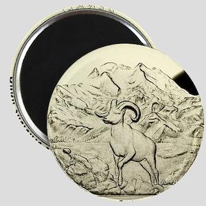 Alaska Quarter 2012 Basic Magnet