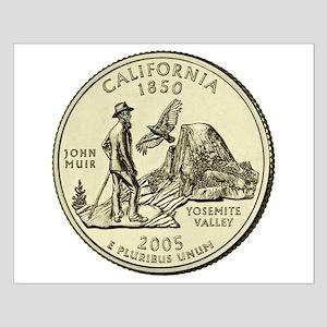 California Quarter 2005 Basic Small Poster