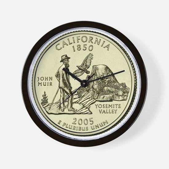 California Quarter 2005 Basic Wall Clock