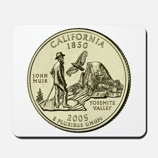 California Quarter 2005 Basic Mousepad