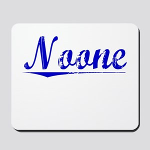 Noone, Blue, Aged Mousepad