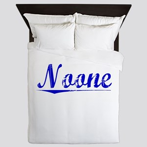 Noone, Blue, Aged Queen Duvet