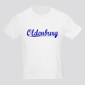 Oldenburg, Blue, Aged Kids Light T-Shirt