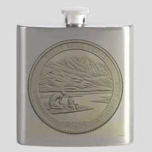 Colorado Quarter 2014 Basic Flask