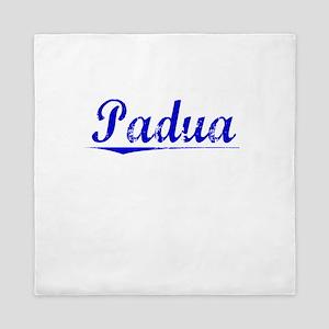Padua, Blue, Aged Queen Duvet