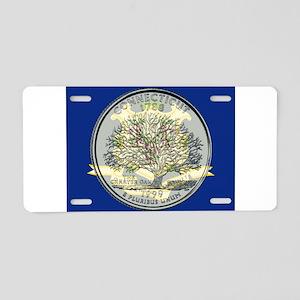 Connecticut Quarter 1999 Aluminum License Plate