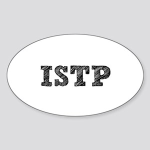 ISTP New! Oval Sticker