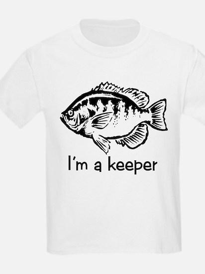 I'm a keeper Kids T-Shirt