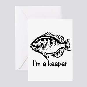 I'm a keeper Greeting Cards (Pk of 10)