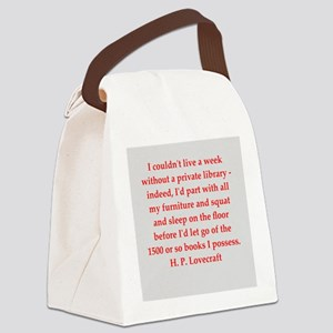 lovecraft5 Canvas Lunch Bag