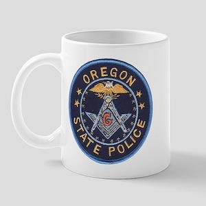 Oregon State Police Mason Mug