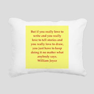 joyce2 Rectangular Canvas Pillow