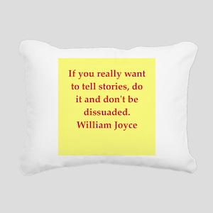 joyce5 Rectangular Canvas Pillow