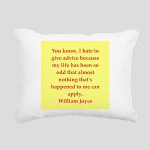 joyce6 Rectangular Canvas Pillow