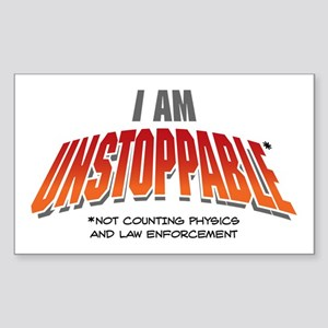 Unstoppable Sticker (Rectangle)