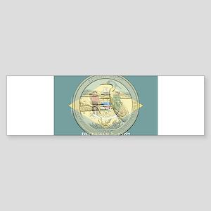 Delaware Quarter 2015 Sticker (Bumper)