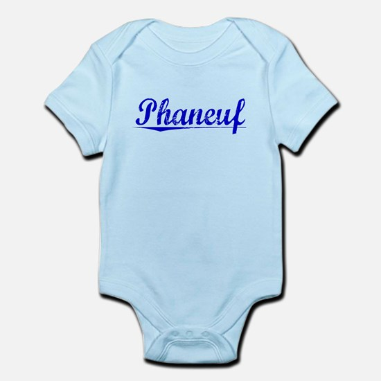 Phaneuf, Blue, Aged Infant Bodysuit