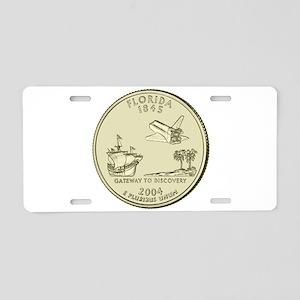 Florida Quarter 2004 Basic Aluminum License Plate