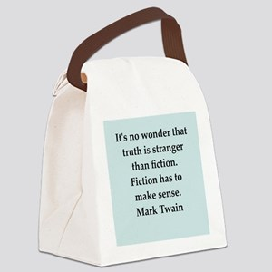 twain13 Canvas Lunch Bag