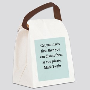 twain9 Canvas Lunch Bag