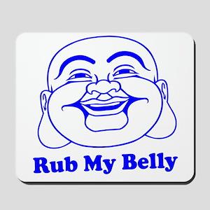 Funny Buddha Mousepad