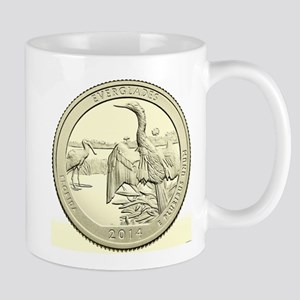 Florida Quarter 2014 Basic 11 oz Ceramic Mug
